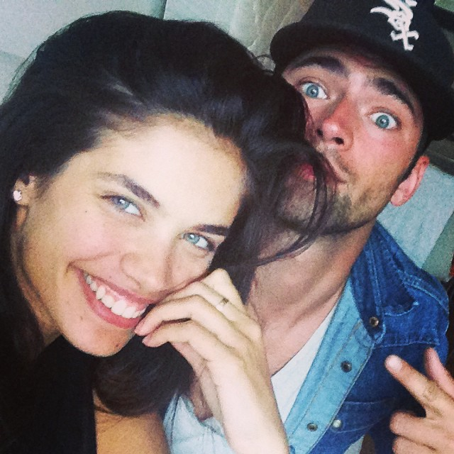 #tbt #throwbackthursday that time I tried to teach @seanopry55 how to take a selfie and he failed miserably