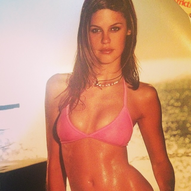 #tbt to my first ever sexy shoot for Sports Illustrated! Back in 2002! #southafrica #swimsuit #sunset #magichour