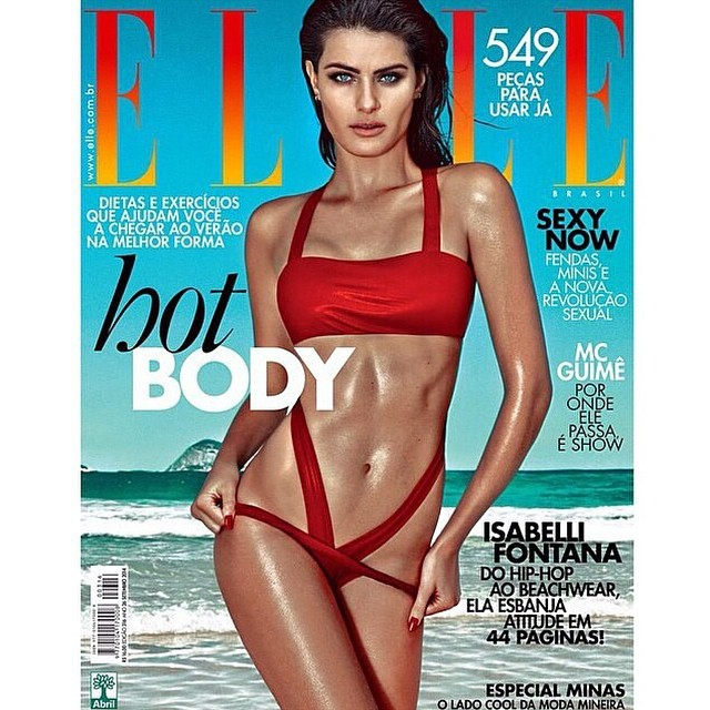 Just out @ellebrasil loved thank you @susanabarbosa  @susanabarbosa