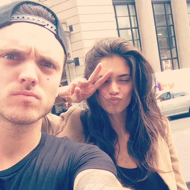 Great to see this butt today! Oh wait that's his face :) joking! Missed ya @alexanderdeleon (not really though)