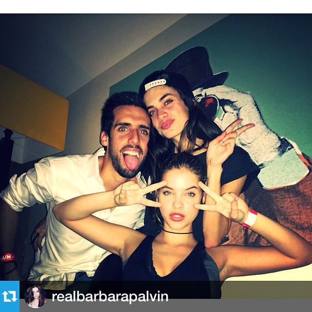 #Repost from @realbarbarapalvin with @repostapp --- Sampaio familia emoji @sarasampaio @andrepsampaio #lisbon
