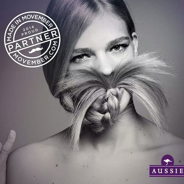 Support #movember for mens health! #growyourmoustache #aussiehair #donate