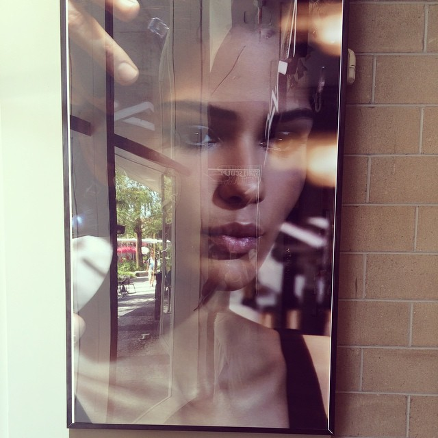 Lovely @melodiemonrose found me in Miami @maccosmetics #beauty #campaign #MilesAldridge