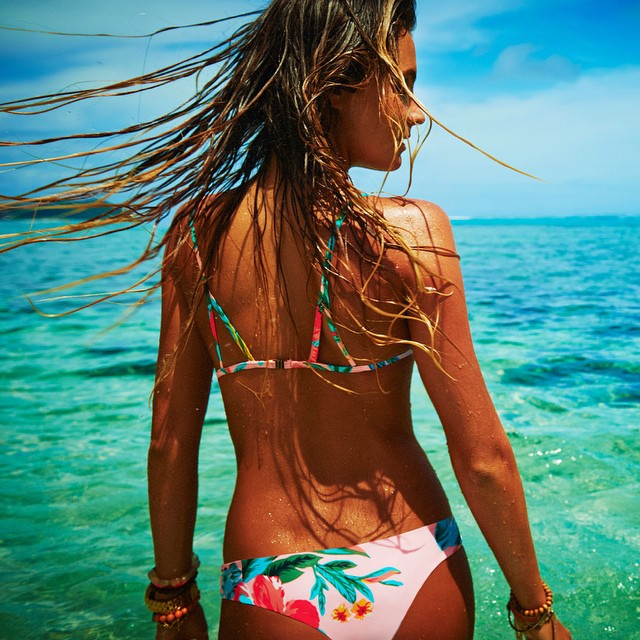 So in love with the new @ripcurl_usa bikini. #mybikini