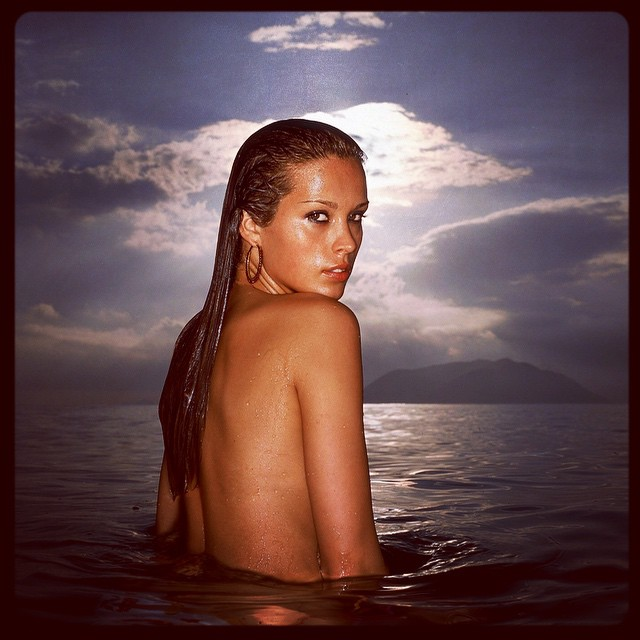 The way we were, chapter two. The great Petra Nemcova in Nha Trang Bay, Vietnam. 2002. @pnemcova