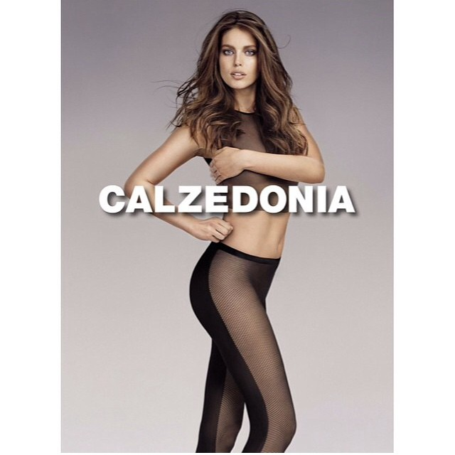 My new @calzedonia campaign shot by one of my favorite people @teamvivanco @imgmodels #calzedonia