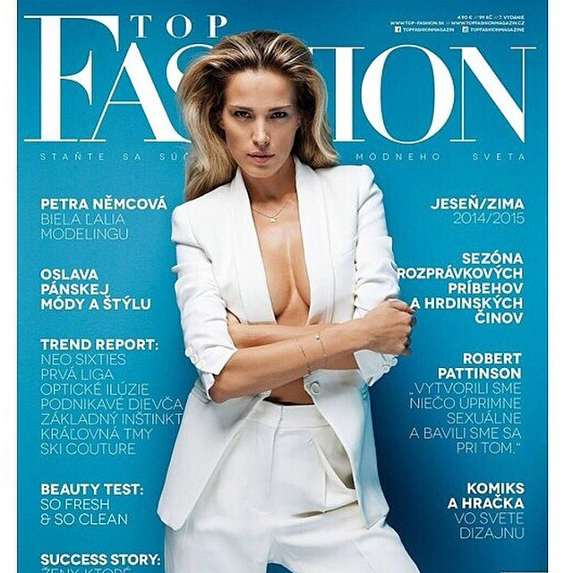 #cover @topfashionmagazine #photo by #annakovacic, #styling by @milenazhu, #hair by @ninakrajco #makeup by @luciella10. Posílám moc lásky #fashion #fun #fall