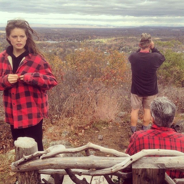 upstate + parents + plaid