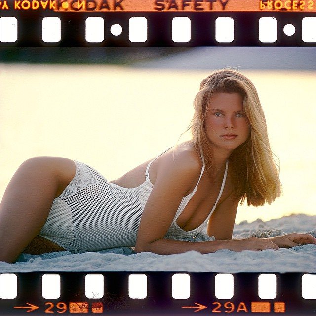 The way we were. The great Christie Brinkley in Brazil for Sports Illustrated swimsuit, 1977. @christiebrinkley
