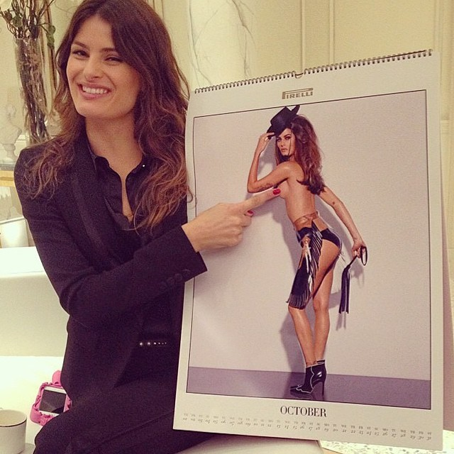When I first saw my pix #StevenMeisel #iconic #pirelli @patmcgrathreal #GuidoPalau .... Quando ví minha foto ....#calendariopirelli