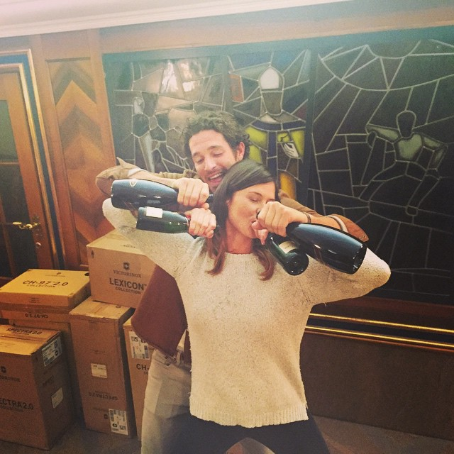 And that's a wrap! 8 days later this was much needed.... Popped those bottles!!!!! #Calida #family #work #zermatt #zermatterhof @justicejoslin