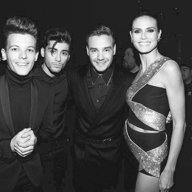 Backstage at the AMAS with Louis ...Zayn...and Liam emoji@louist91 @zaynmalik, @fakeliampayne @onedirection