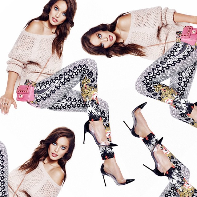 Pile on the pattern with bold & glamorous prints! #CoutureClash #JuicyLook [feat. Emily DiDonato]