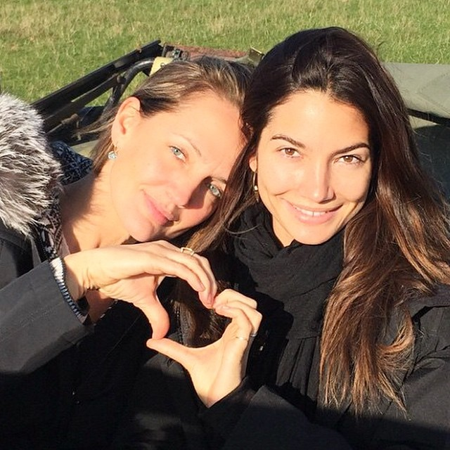 Today is a #love fest. emoji️Thank you @lilyaldridge & @SaffronAldridge for sharing you hearts for #HappyHeartsChallenge. #sisters love and bond is so magical. Dear @gigihadid and @misskarenelson thank you for sharing your hearts too and @HappyHeartsFund to rebuild more #HappySchools. emojiemojiemoji