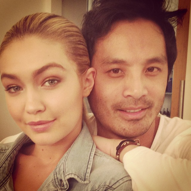 Had an amazing day shooting with my @gigihadid #supermodel #beauty @imgmodels @88phases @opusbeauty @allanface @robsalty @opusreps @cartelandco
