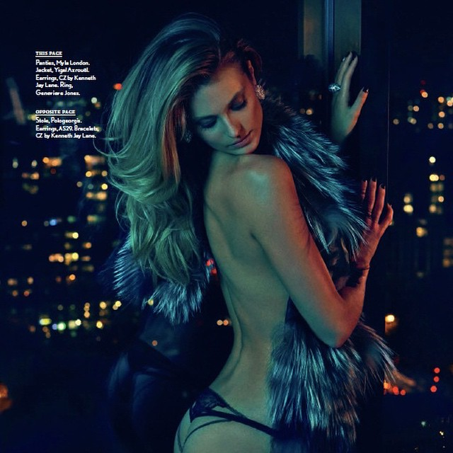 "So excited about the beautifully shot new story ""BOCK STAR"" by @jamesmacari out in @maximmag NOW !! Thank you @riadazar9 @munemiimai @everybodylovesliz @maximmag !!! Xx"