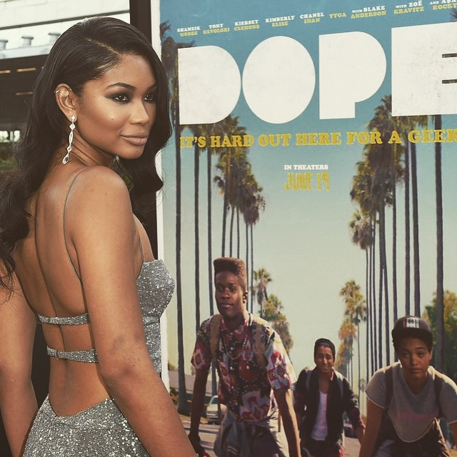 NOW Playing in Theaters Everywhere @dopethemovie summer film to go see... get your tickets today :) #lily