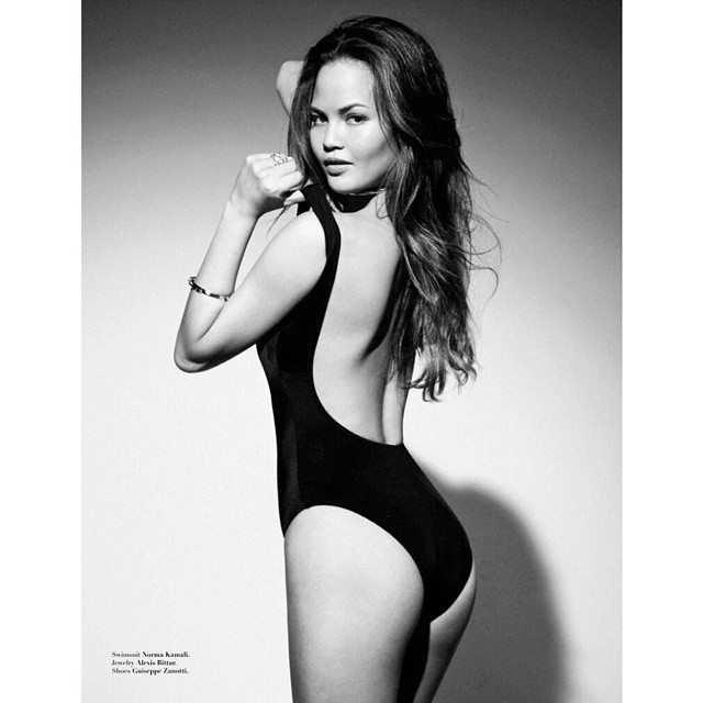 #HBD to #model #foodie @chrissyteigen@princeandjacob #Galoremag #galorebombshells