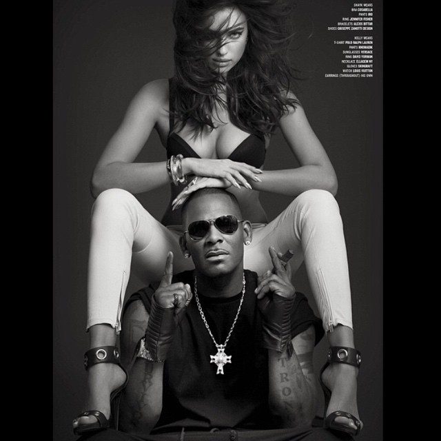 #tbt @rkelly my fav shoot for @vmagazine