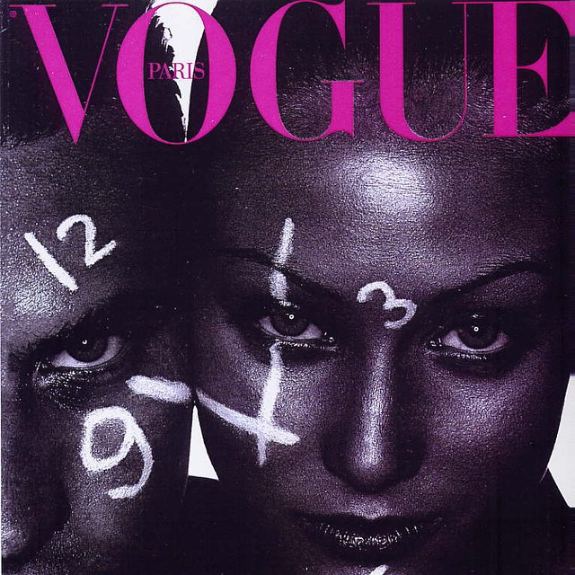 #Vogue #Paris My first #cover #Thepastisgonebutmemoriesarepresent #model #fashion #moda #tbt #cover #watches #1996