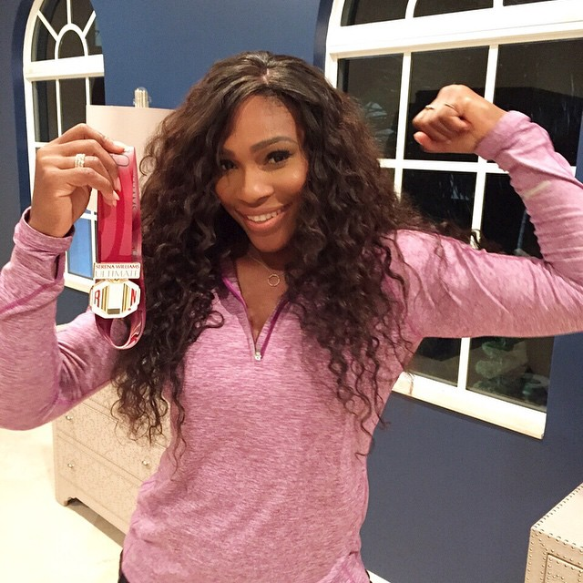 I hope to see all of you holding a finisher medal this Sunday after the Serena Williams Ultimate Run this Sunday, Dec 14 in Miami Beach!!! Come out, get in shape and support the Serena Williams Fund. #SWFund @theultimaterun www.theultimaterun.com