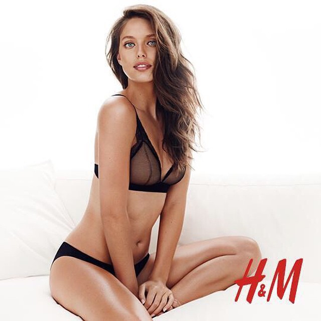 NEW @hm lingere campaign is out! @imgmodels @sbermood
