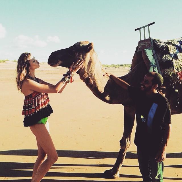My new love sorry @supreme_kec hahahhaa . @supreme_kec @glamourbrasil #GlamourBrasil #marocco #marrocos