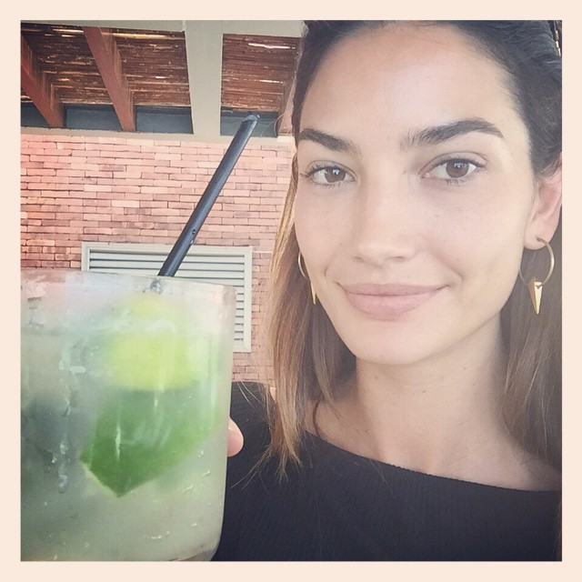 After an insanely long day of traveling it's time for a caipirinha emoji #FirstTimeInBrazil #Rio #Love #ThankYouFasano