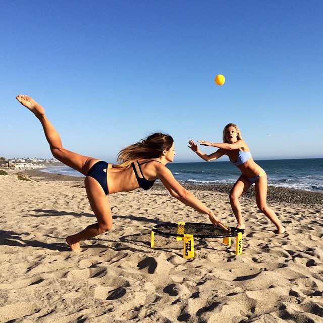 Psyched to be getting my guy friends #Spikeball sets for #Christmas.. Is it on your list?