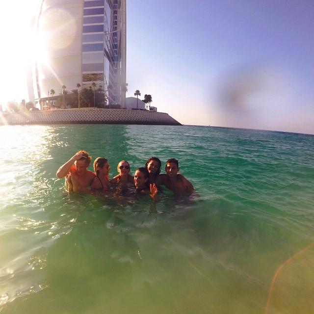 crew love #jumeirah