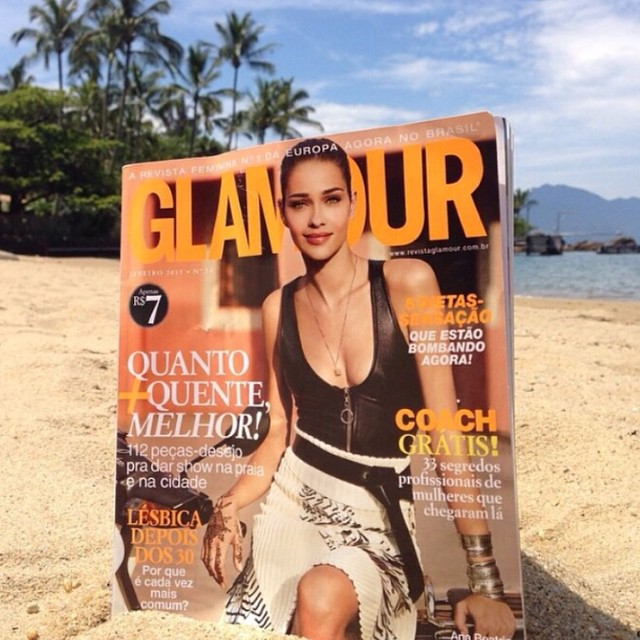 Regram from @glamourbrasil I love my new cover! @monicagsalgado @bobwolfenson @ritalazzarotti @herodrigues @tabataboccatto @sabrimuller