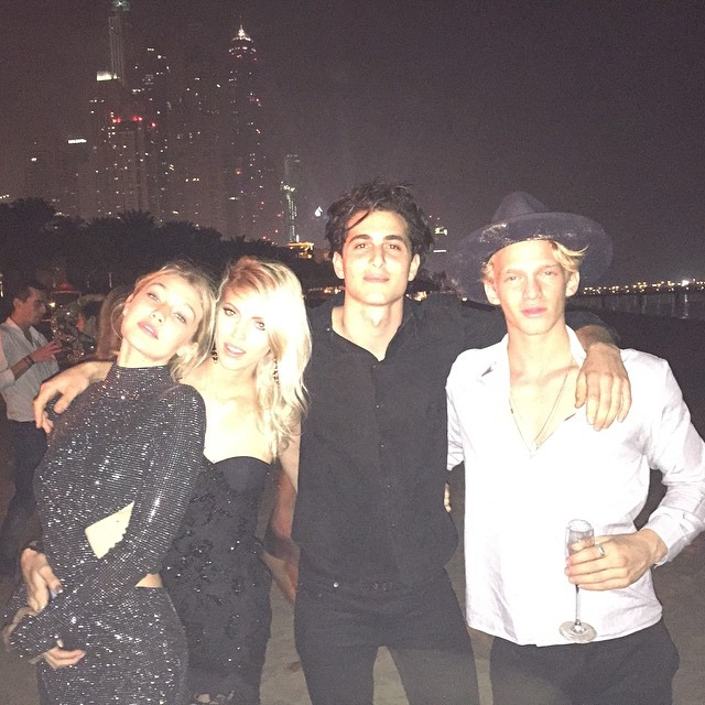 Couple hours into 2015 with the babes @devwindsor @fainouveau @codysimpson