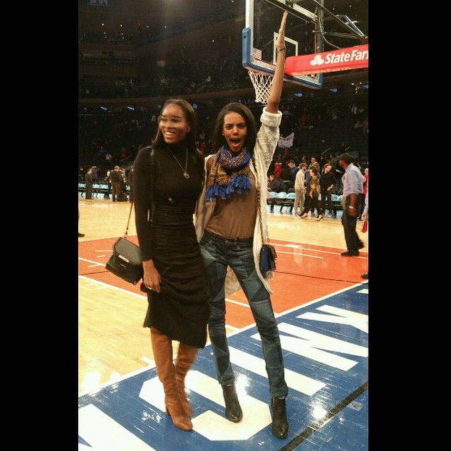 Knicks vs. Raptors w @gracemahary