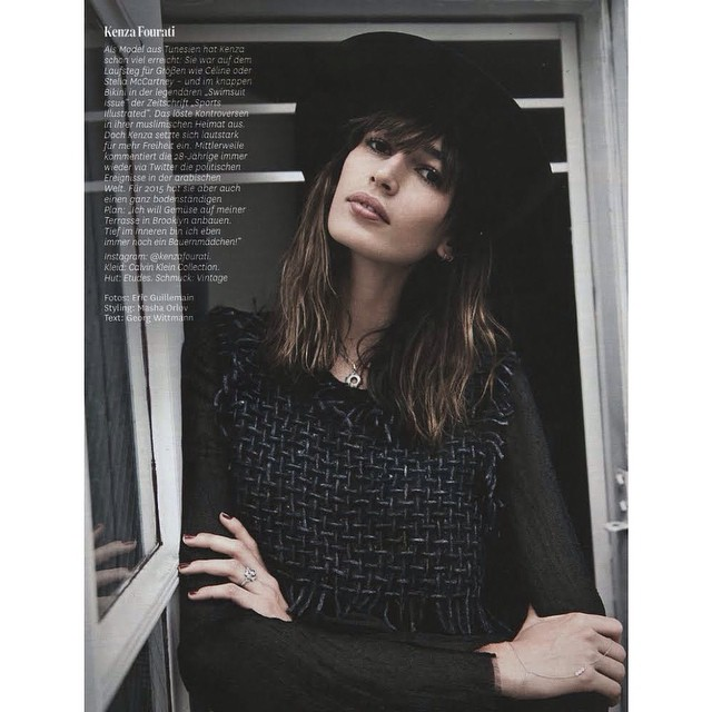 @KenzaFourati for @GlamourGermany || #ONEMANAGEMENT #theONES