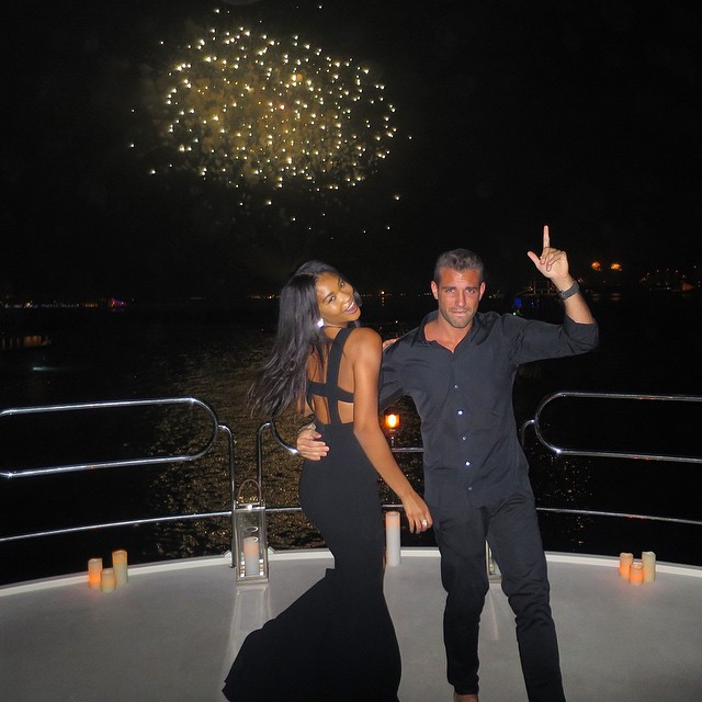 Happy New Year Dubai @tommy_chiabra (big bro)