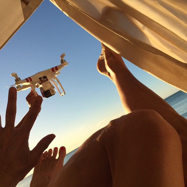 """Did I mention ...It was almost """"curtains"""" for me over my Christmas vacation! #closecall #drone #goawaypro!"""