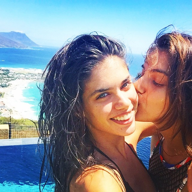 Happy 2015 from #southafrica with @shlomitmalka
