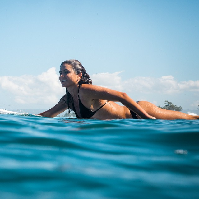 It's impossible to not smile when you surf
