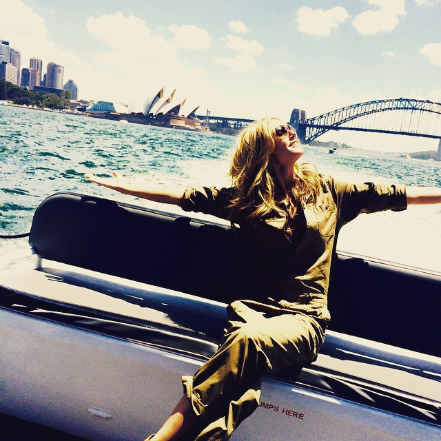 Hello Sydney! Finally here! @heidiklumintimates