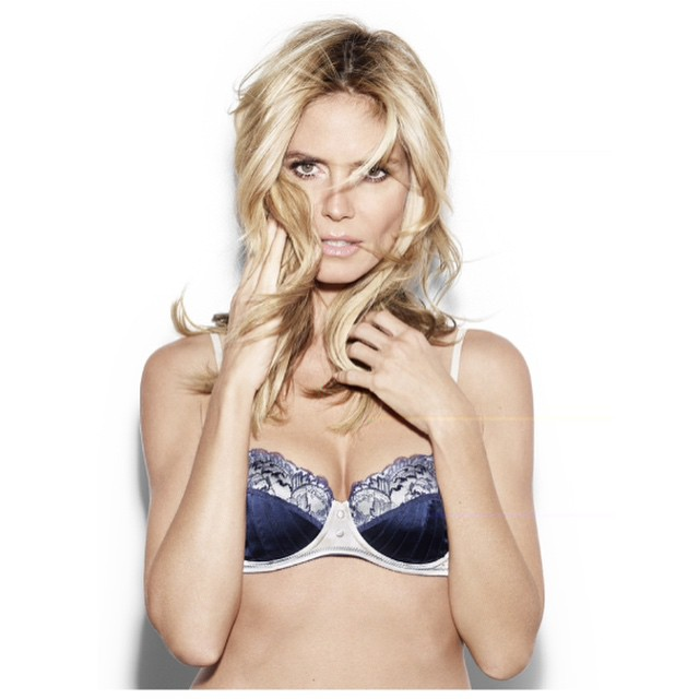 Australia! Get ready! I'm coming over to launch @HeidiKlumIntimates with you first!