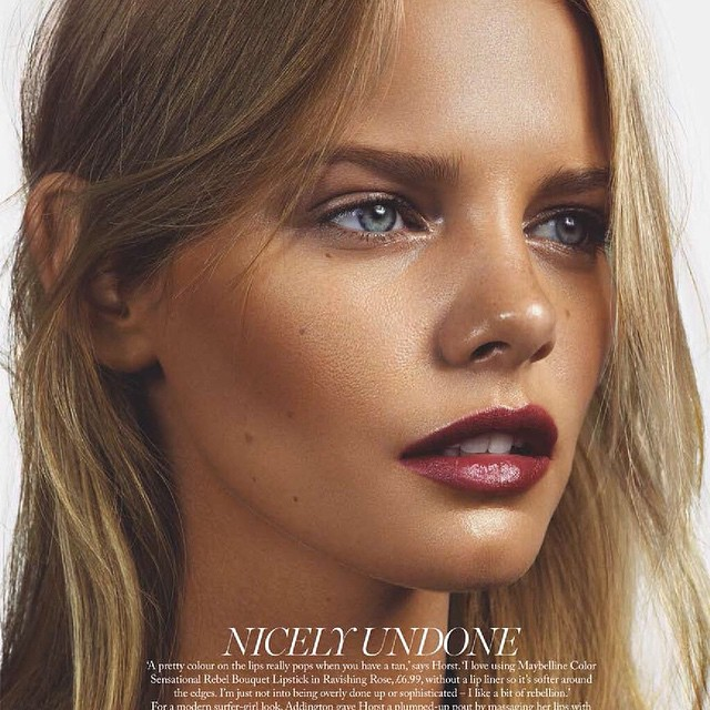 @marieclaireuk for @maybelline ph: @jonasbresnan , edit @lisaoxenham , makeup @samaddington , hair @jennykim__ , @melbelleny @powerroyal