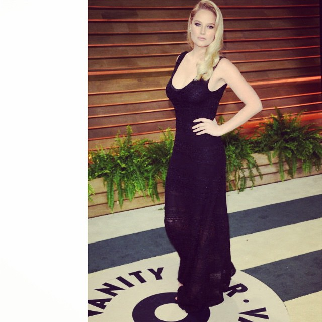 Throwing it back to last years @vanityfair party #tbt #throwback