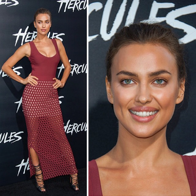 Attending the #HerculesMovie premiere Wearing my favorite @azzedinealaiaofficial @thelionsny