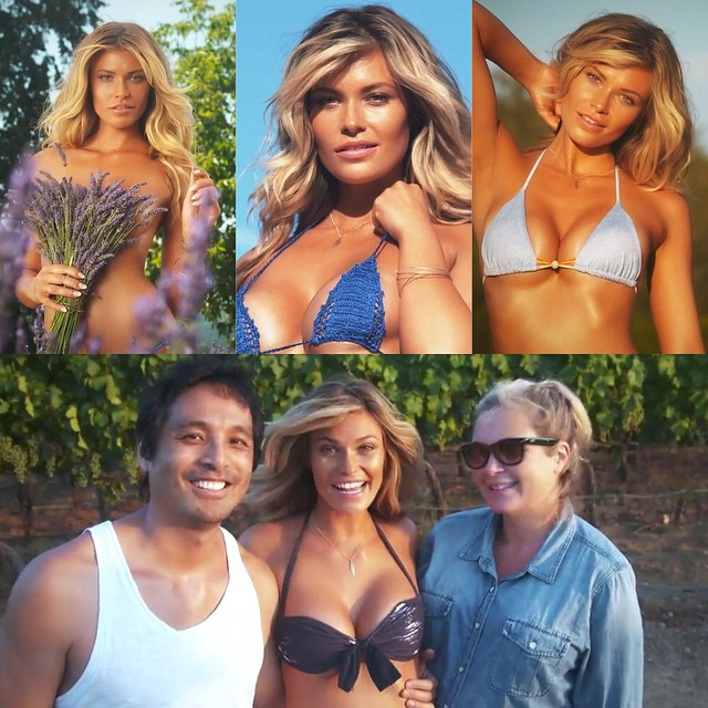Don't forget to watch the #travelchannel tonight for the @si_swimsuit #westcoast shoots!
