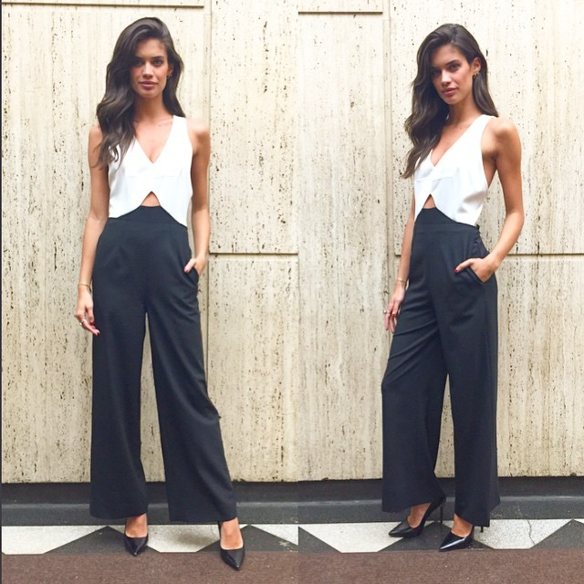 Today's look @yigalazrouel jumpsuit and @prada shoes @thelionsny @alikavoussi @si_swimsuit