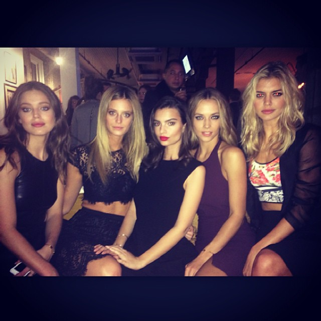 Last night in Nashville with gorgeous gals #siswim #swimville @si_swimsuit
