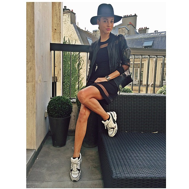 Yessss once again im addicted to my hat lol! Btw the weather in Paris is perfect today