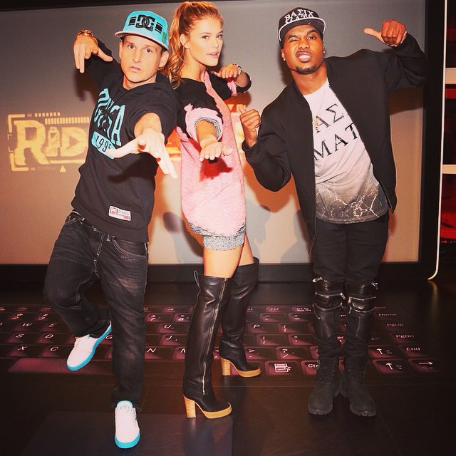 Catch me and tha boys @robdyrdek @steelobrim and @chanelwestcoast on #ridiculousness TONIGHT @mtv 10:30/9:30c #NINJA
