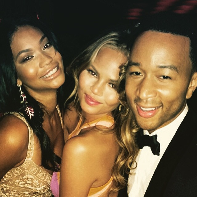In the best company @chrissyteigen Gives me life ... Congrats @johnlegend for your Oscar win !! #vanityfair #oscars