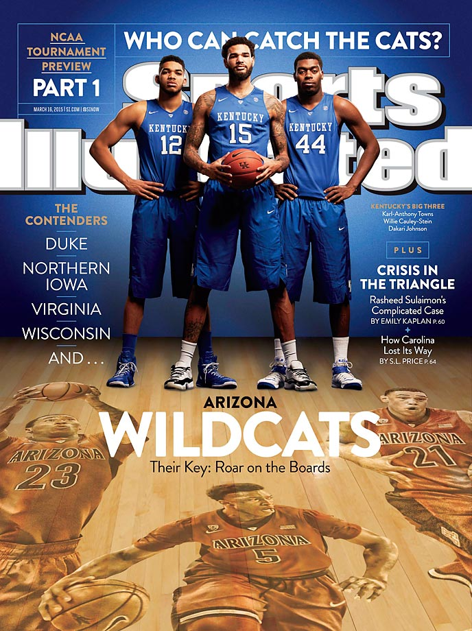 March 16, 2015 | The Wildcats haven't been to the Final Four since 2001, but boasts a frontcourt and defense that has given Pac-12 teams trouble this season.